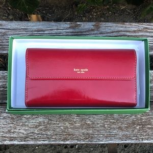 Kate Spade Jane Street Maria Continental Checkbook